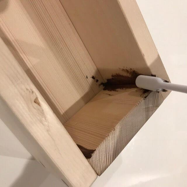 木箱ビンテージ