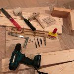 木ダボの使い方!ドリルの穴あけとマーキングポンチの活用術!