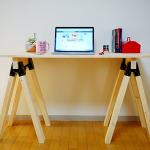 ソーホースブラケットの使い方は?作業台テーブルを製作!